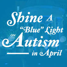 Light Clinton Up Blue For Autism!!!